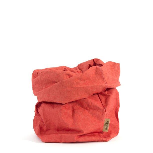 Large Paper Bag Coral