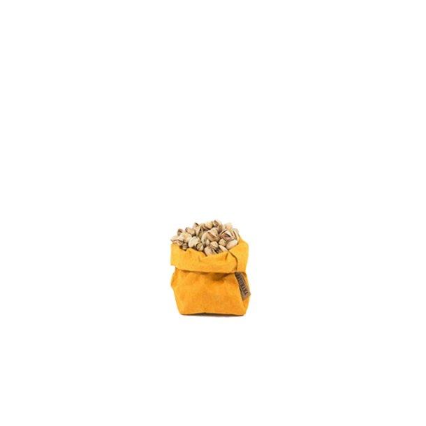 Small Paper Bag Mustard