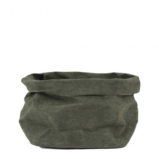 Large Paper Bag, Dark Green