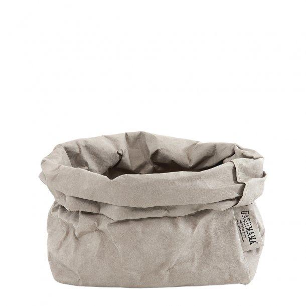Large Paper Bag Grey
