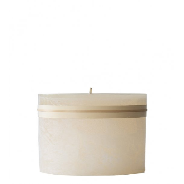 Timber Candle Melon White