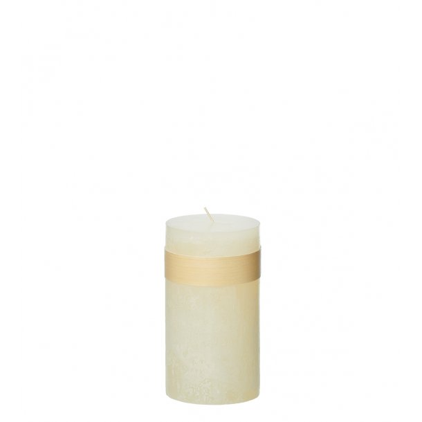 Timber Candle, Melon White