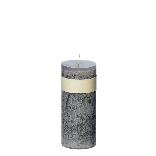 Timber Candle, Grey