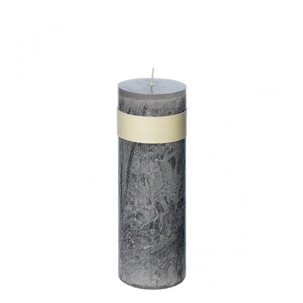Timber Candle, Grey