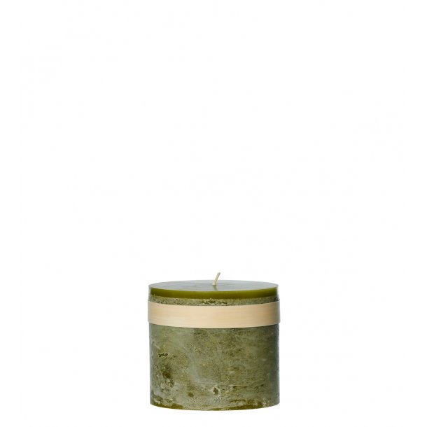Timber Candle Moss Green