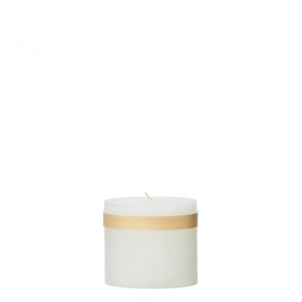 Timber Candle Snow White
