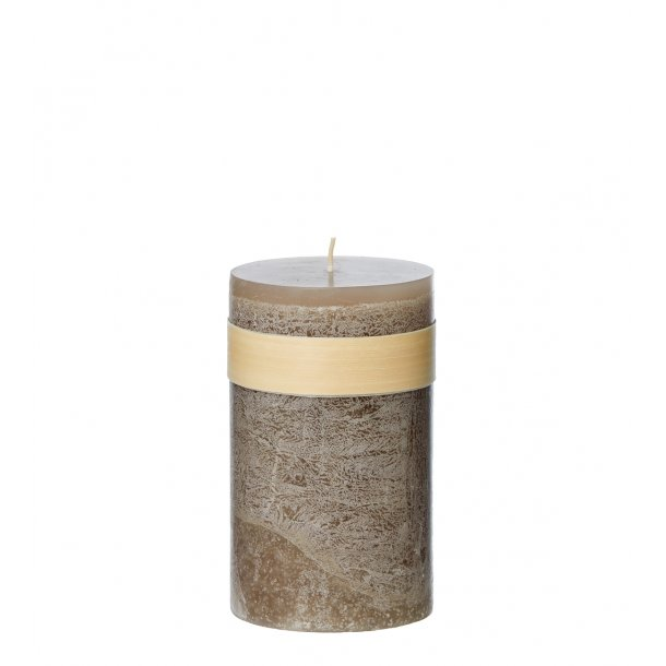 Timber Candle Taupe